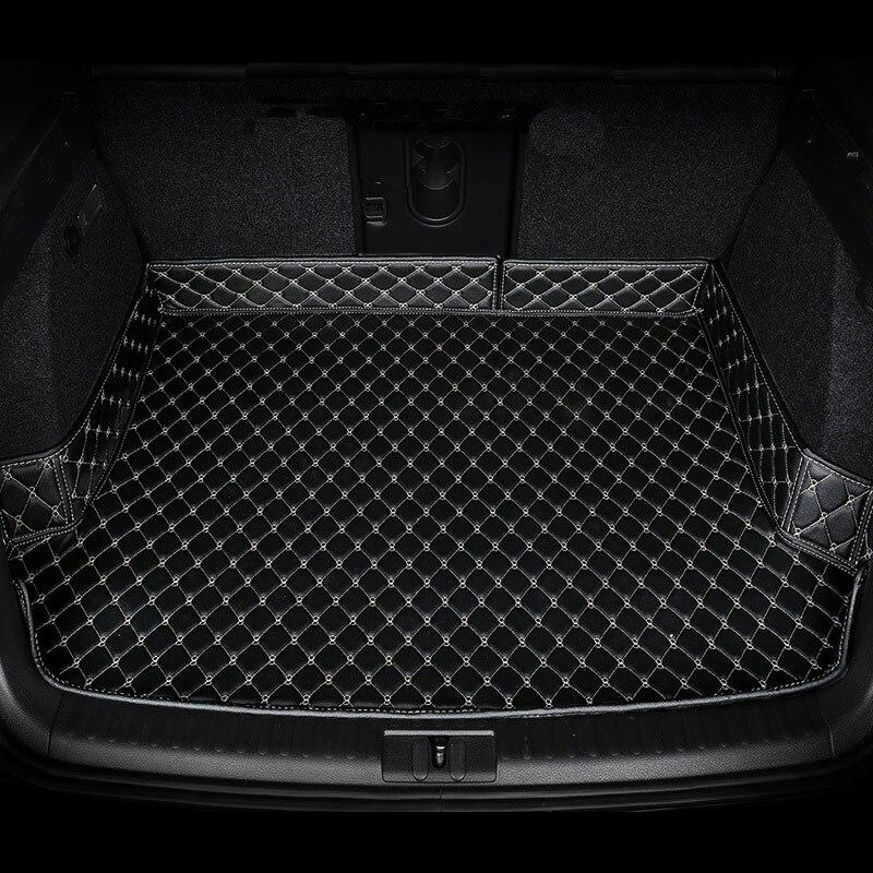 Car trunk mat,cargo liner, rear boot mat,custom fit for Volkswagen Passat Toyota Highlander Camry Cadillac ATS XTS XT5