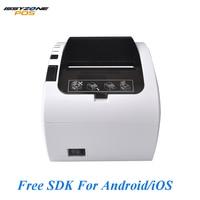 Issyzonepos 80mm Thermal Printer Logo Auto Cutter In Restaurant Supermarket Kitchen Hotel Monitor/Queue Restaurant Easy Control