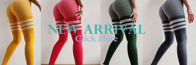 yoga calças de cintura alta espólio leggings