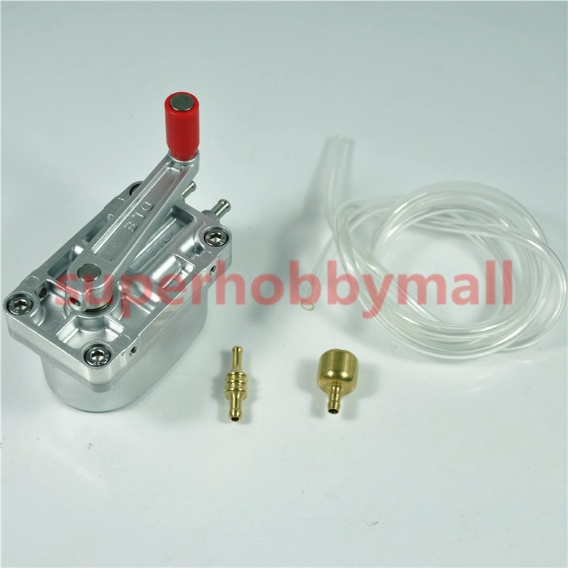 1pc DLE Large Flow hand gas pump Metal gear pump For RC Airplane ice ddc 3 2 high raise large flow pump full metal 18w