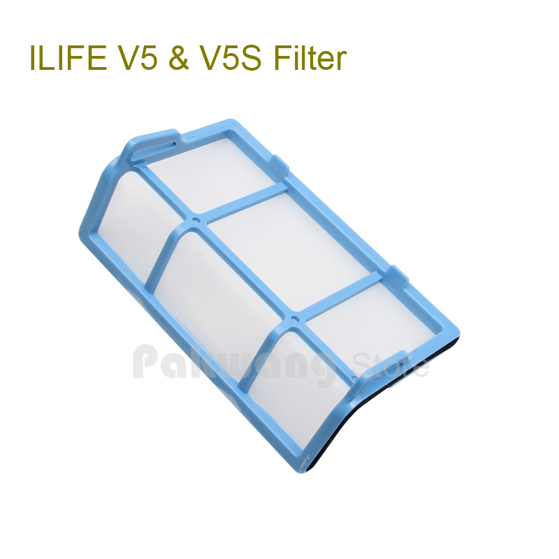 Original ILIFE Robot Vacuum Cleaner Filter 2 Pcs Apply To Ilife Models