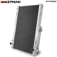 EPMAN-42 MM için 2 Satır Alüminyum Radyatör Nissan Skyline R33 R34 GTR GTST RB25DET MT EP-R106RAD