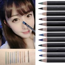 12 Colors Eye Make Up Eyeliner Pencil Waterproof Eyebrow Beauty Pen Eye Liner Lip sticks Cosmetics Eyes Makeup