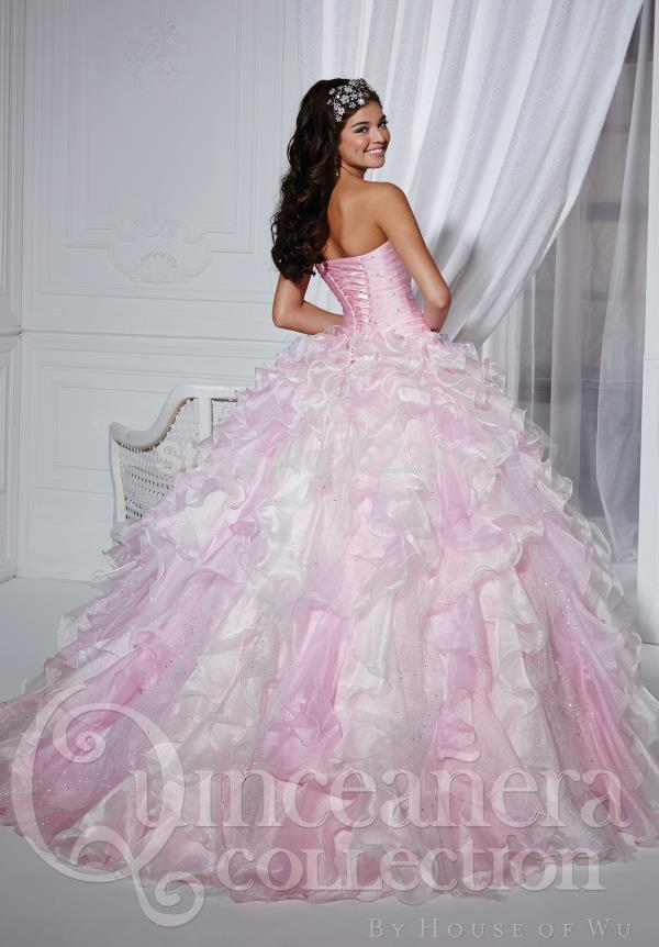 Used Prom Dresses Big Puffy Quinceanera Online Ball Pink New York ...