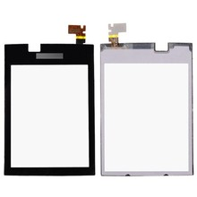 New High Quality For Nokia Asha 300 N300 Touch Screen Digitizer Sensor Outer Glass Lens Panel Black