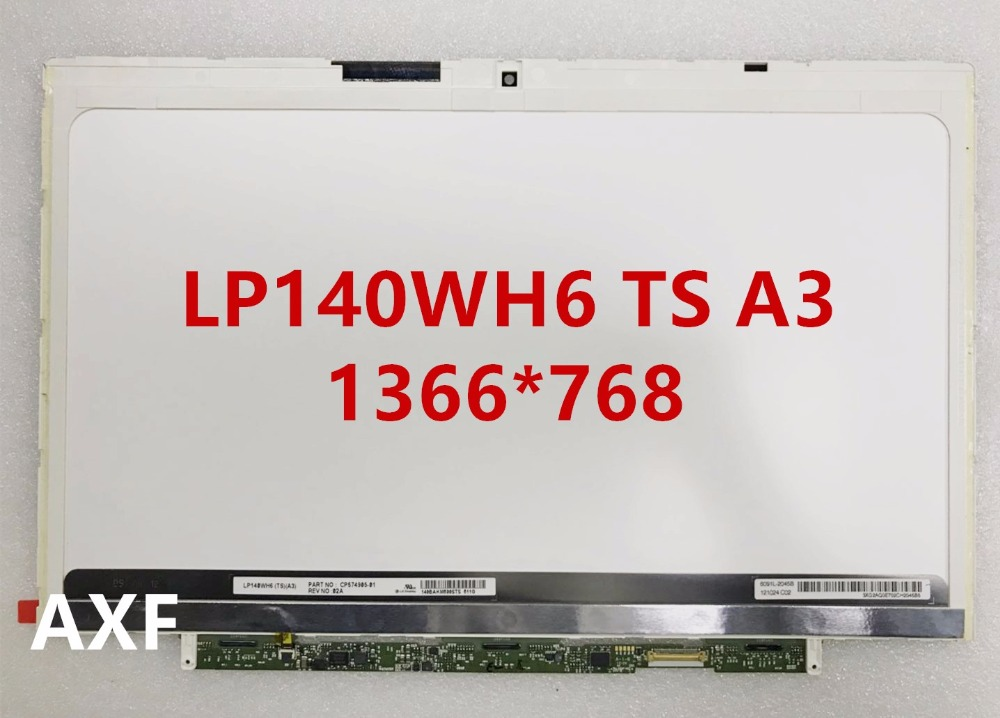 14.0 LED FOR FUJITSU U772 HP Folio 9470m screen LP140WH6 TSA2 LP140WH6 TSA3 1366*768 накладной светильник arte lamp sinderella a4865pl 2cc