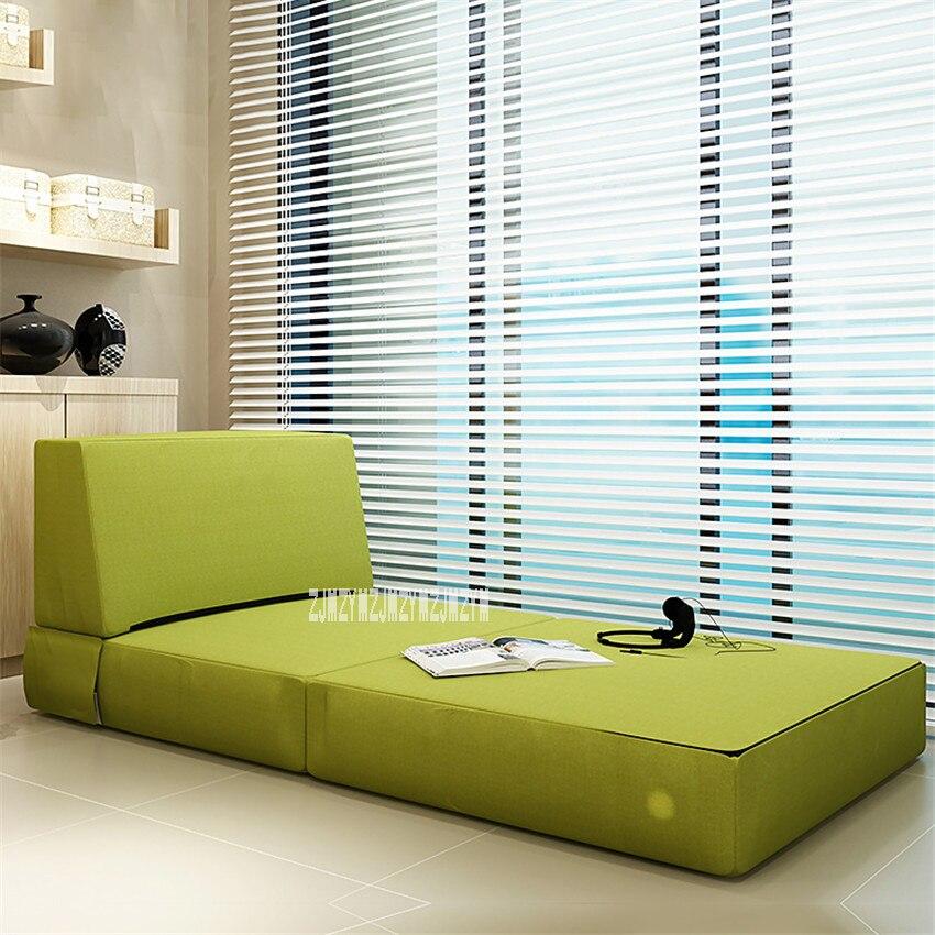 N826 salon pliable canapé lit de couchage multifonction lavable paresseux canapé moderne Simple éponge confortable Tatami canapé chaise