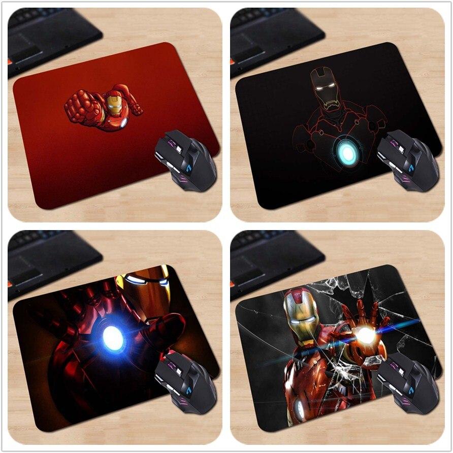 iron man Custom Design Mouse Pads Computer Gaming Mousemats