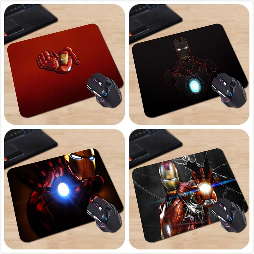 iron man Custom Design Mouse Pads Computer Gaming Mousemats