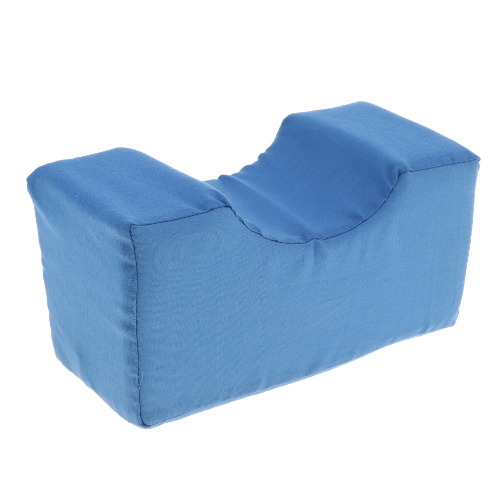 Washable Cover Foam Leg Ankle Hand Elevator Cushion Support Elevation Pillow For Surgery Injury Rest Blue