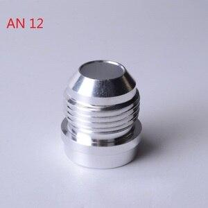 Image 5 - SPEEDWOWอลูมิเนียมคุณภาพสูงAN4 6 8 10 12 16 ANตรงชายWeld Fittingอะแดปเตอร์Weld Bungไนตรัสท่อSilver