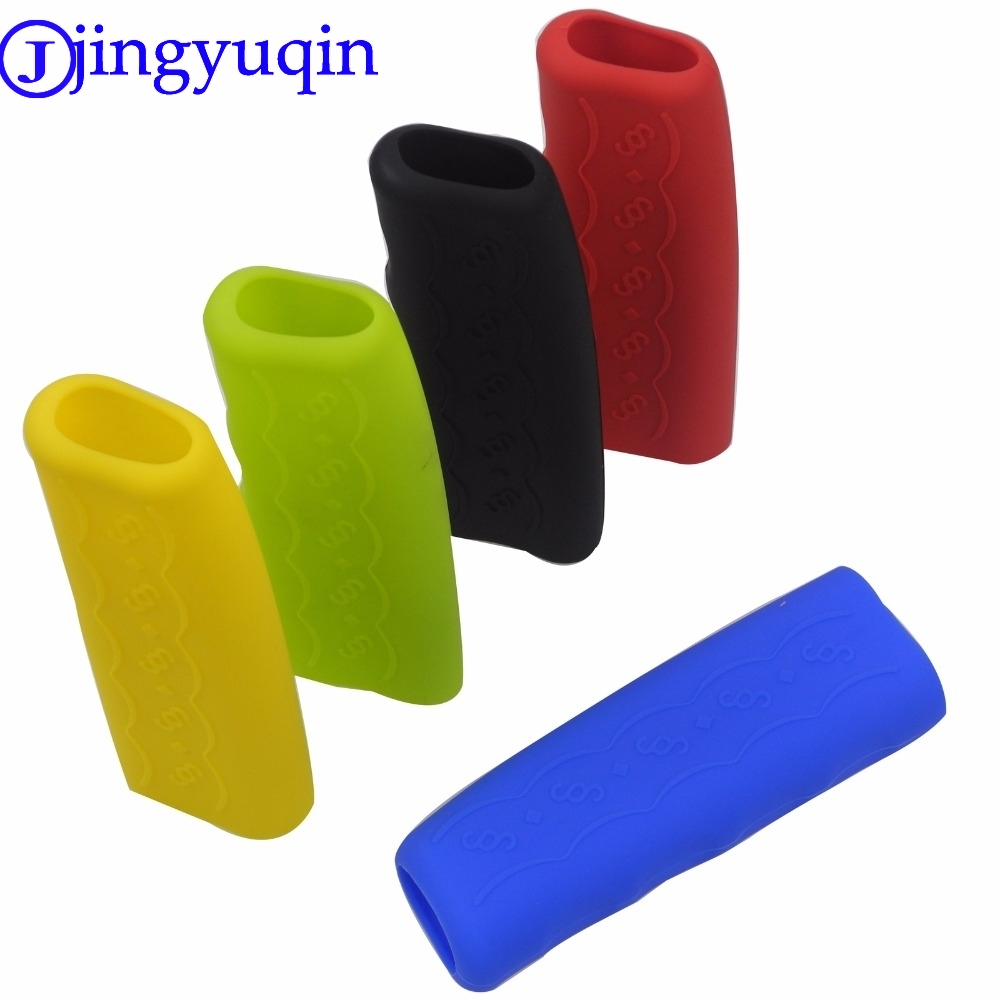 Gel Cover Anti-slip Parking Hand Brake Grips Sleeve Universal Decoration Auto Accessories Car Handbrake Covers Sleeve Silicone universal car styling handbrake sleeve silicone gel cover anti slip multicolored parking hand brake sleeve car accessory