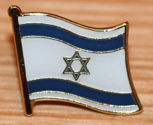 High quality and low price ISRAEL Country Metal Flag Lapel Pin Badge custom made metal craft country flag lapel pin FH68003