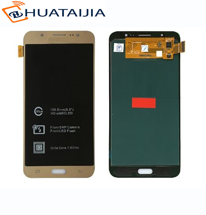 New design lcd screen for Samsung galaxy j7109 J7108 SM-J7109 With Touch screen display brand new 30pcs wholesale price for samsung galaxy s7 edge g935 g9350 g935f g935fd lcd display touch screen free dhl 3 color