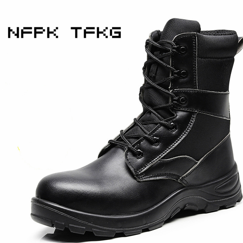 mens casual large size breathable steel toe caps work safety shoes anti-pierce platform tooling security boots autumn winter man halinfer men safety work shoes steel toe caps 2018 fashion casual breathable slip on safety boots anti pierce black sneaker shoe
