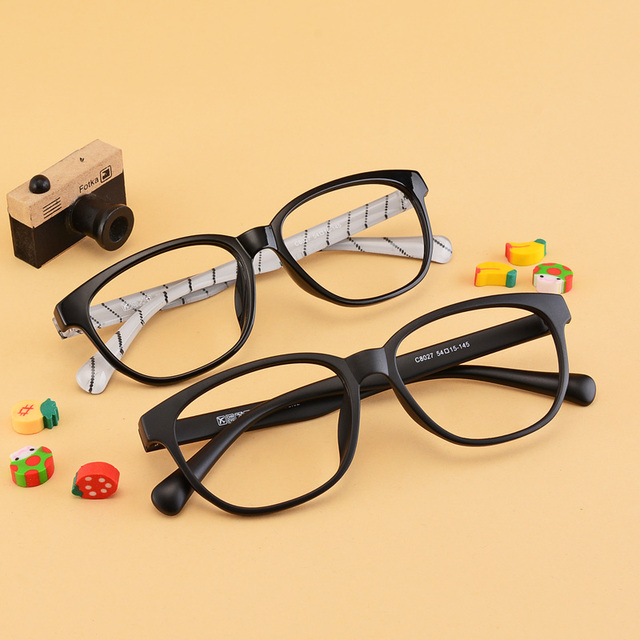 d8f03e24255 Big box ultra-light tr90 myopia frame eyeglasses frame plain  radiation-resistant myopia glasses