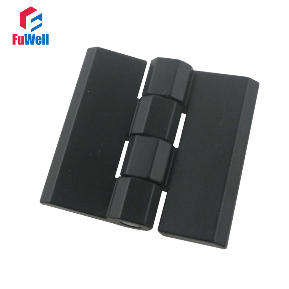 2pcs Zinc Alloy Furniture Hinge Black Door Hinges for Kitchen Cabinet CL226-2A 50x50mm Heavy Duty Corner Hinges цена
