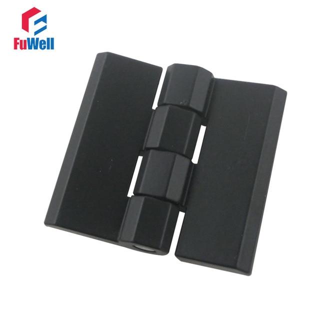 2pcs zinc alloy furniture hinge black door hinges for kitchen