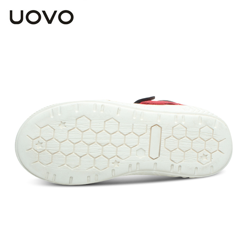 Image 5 - UOVO Spring And Autumn Kids Casual Shoes Boys Sneakers Mid Cut Fashion Children School Shoes Kids Footwear Size #27 37-in Sneakers from Mother & Kids