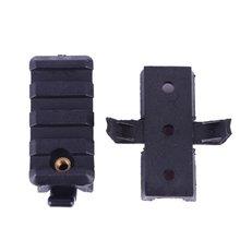 Support en ABS pour le montage sur Rail latéral, accessoires d'extérieur, adaptateur de pique-nique pour le casque rapide