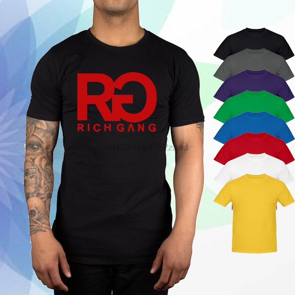 ad8472f66 Detail Feedback Questions about Rich Gang RG Logo Men T Shirt Clothing YMCMB  Young Thug Lil Wayne Rich Homie Unisex on Aliexpress.com | alibaba group