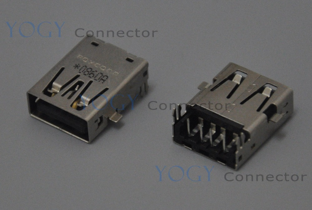 10pcs Common use 17mm USB Jack fit for ASUS 1015PX 1015P 1015PEM Series and other laptop motherboard female usb connector port