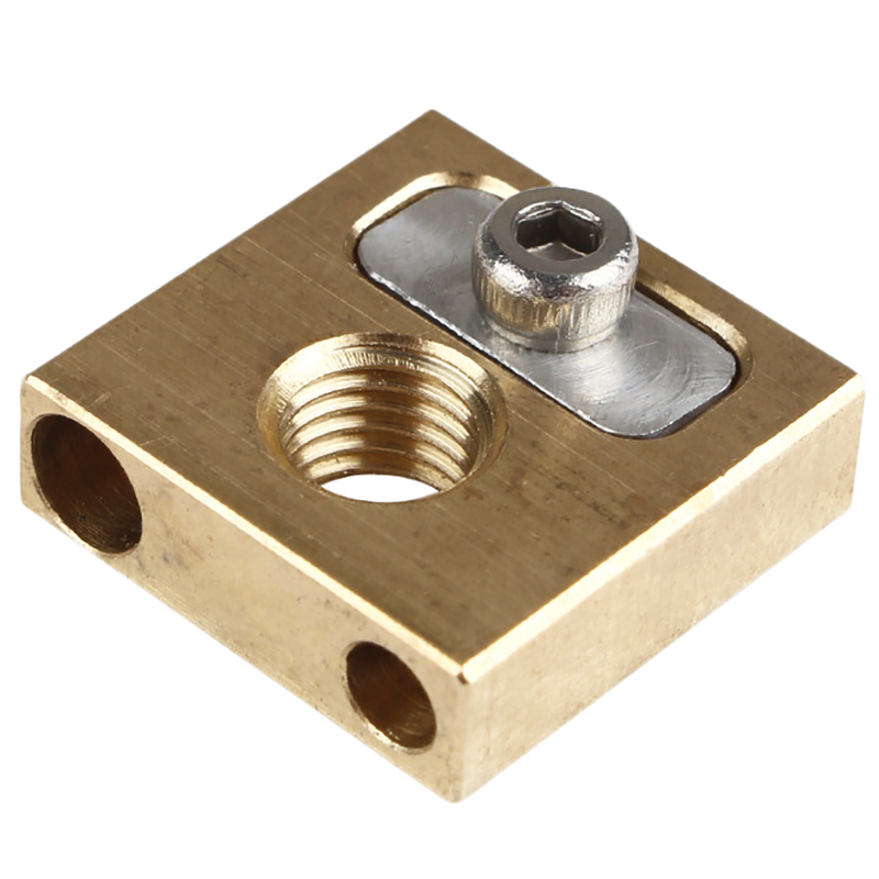 Ultimaker3 Um3 Nozzle Copper Head Heater Block 4Mm Heated For 3D Printer