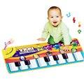 Tapete da música do bebê de Piano bebê música mat Bebê Recém-nascido Kid Crianças Rastejando tapete Musical mat Tapete cobertor brinquedos presente