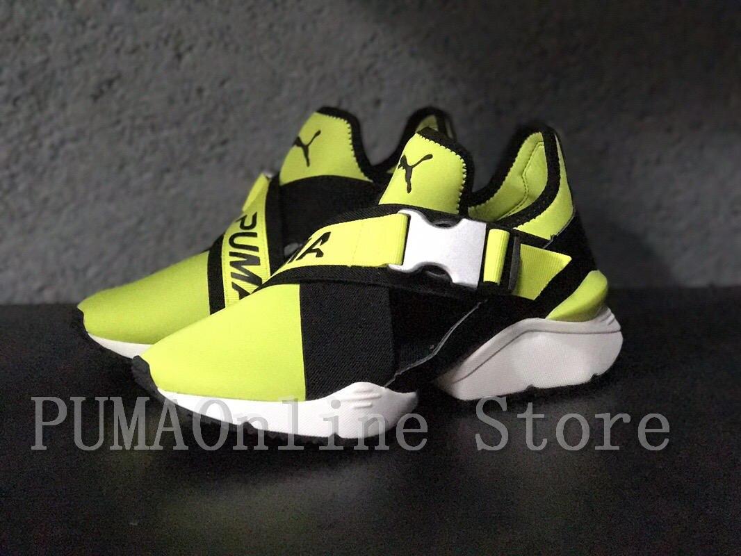 9d638f732cb 2018 Original PUMA Muse CUT-OUT Women s Sneakers Runs Badminton Shoes  Size35.5-