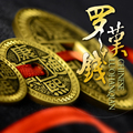 new arrival Chinese LUOHANQIAN coin set half dollar size magic prop magic toys origional DVD,magic tricks,gimmick