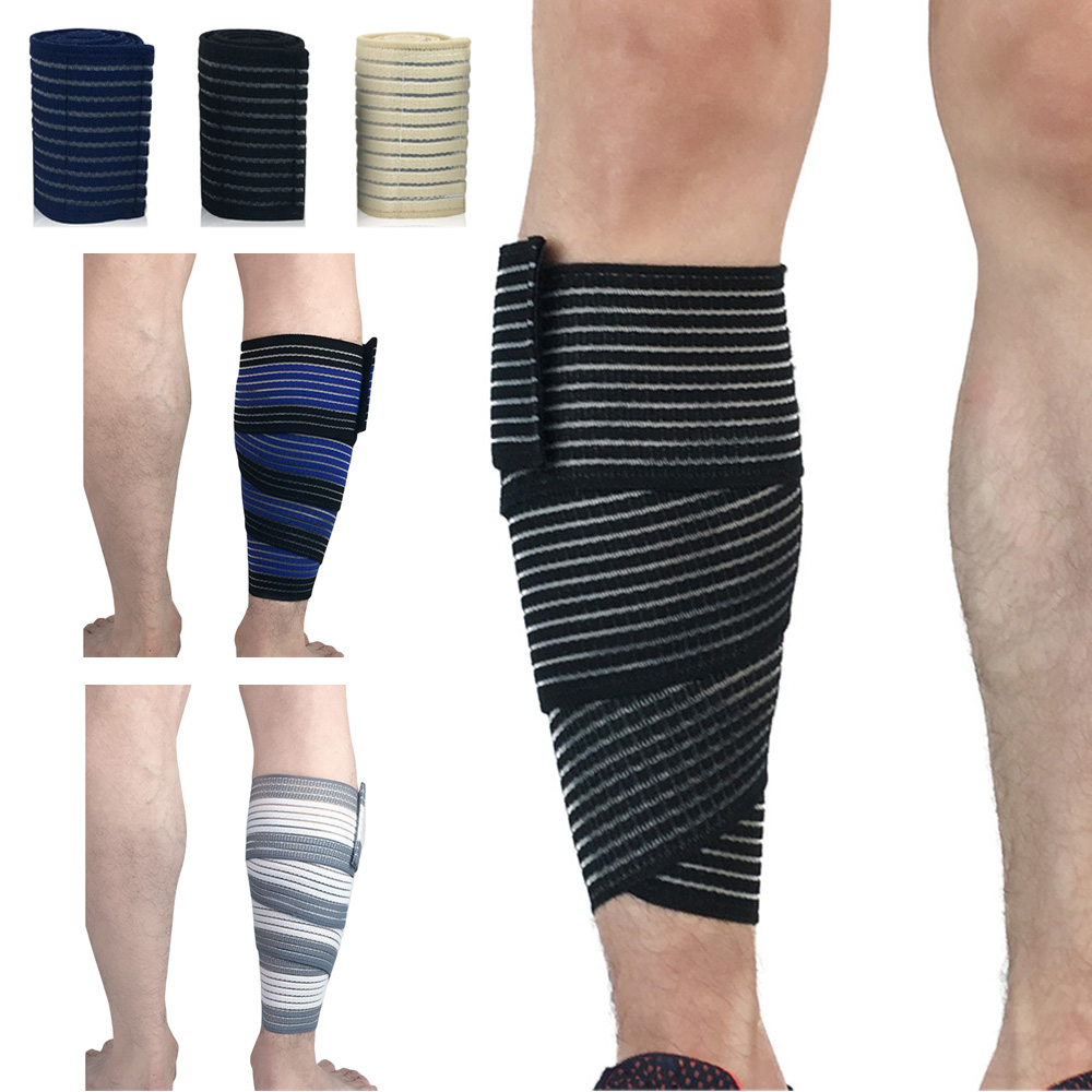 Sports Elastic Bandages Calf Leg Sleeve Adjustable Sports Protective Gear SPSLF0048