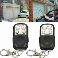 3PCS 4 Button Electric Gate Garage Door Remote Control Cloning Transmit 2018 15