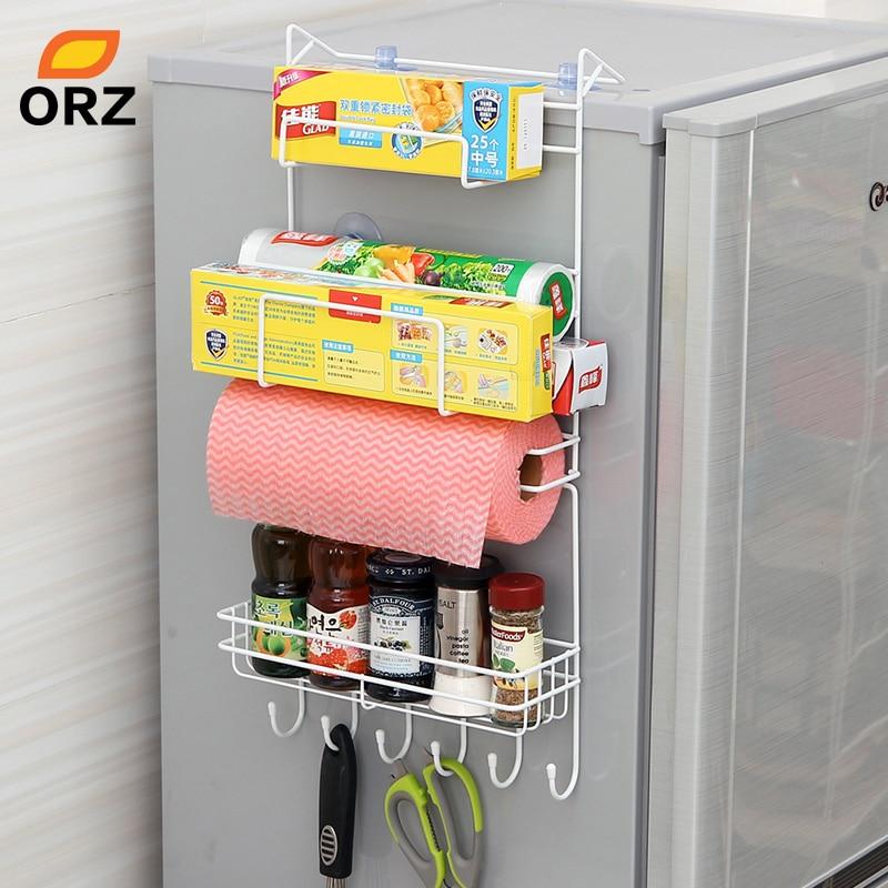 Storage, Multi-layer, Refrigerator, Sidewall, Multipurpose, Crack