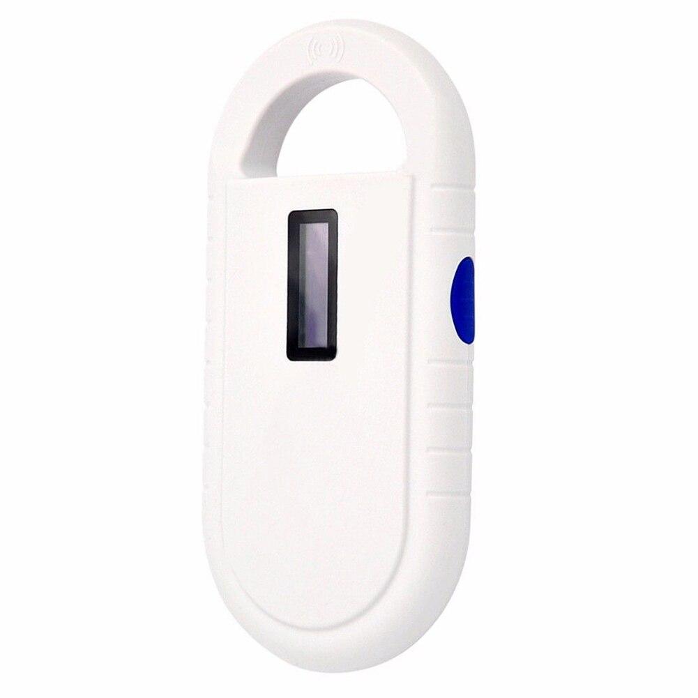 Scanner portatif d'étiquette d'oreille de lecteur de reconnaissance de puce d'animal familier de RFID 134.2 Khz meilleur prix