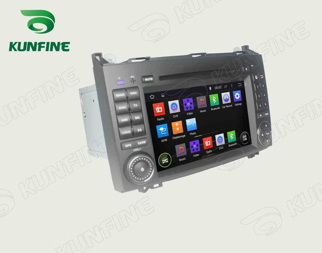 Quad Core 1024*600 Android 5.1 Reproductor de DVD Del Coche de Navegación GPS Estéreo Del Coche para el Benz Radio Bluetooth Wifi/3G de control del volante