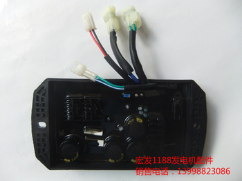 SAWAFUJI SHT11500 ET12000 AVR AUTOMATIC VOLTAGE REGULATOR THREE PHASE 4 plugs GASOLINE GENERATOR PARTS replace part