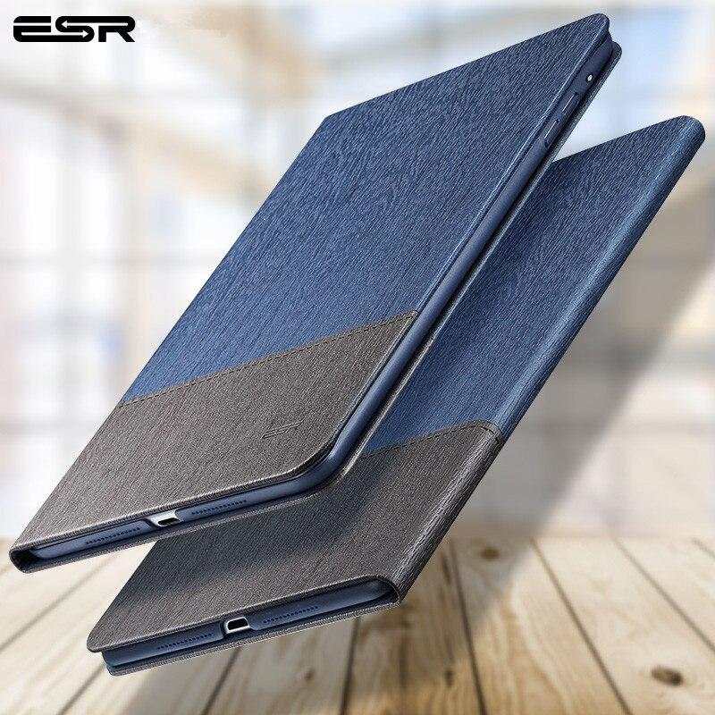 ESR Cas pour iPad Mini 4 3 2 1 Cas Oxford Tissu Retour Trifold Stand Auto Sommeil/réveil smart Cover pour iPad Mini 2 Cas