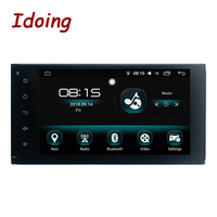 Idoing 7 2 Din Android Radio GPS Multimedia Player For Toyota Universal IPS Screen Navigation