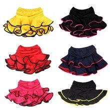 129814c4b7754 Bazzery chicas Latina Falda de baile Samba Chacha baile vestido dentro con Anti  vaciado pantalones cortos niños Mini falda