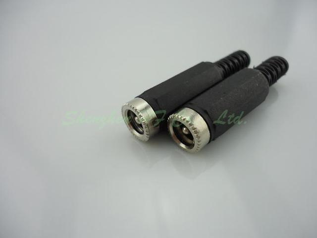 Gakaki 10pcs/lot wholesale 2.1*5.5mm DC Female Jack for CCTV Camera Security System DC Plug Adapter for Surveillance System