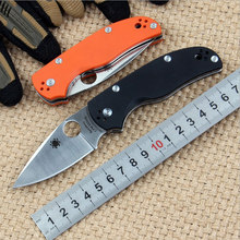 High Quality CPM S35VN blade G10 handle 2 colors folding knife outdoor camping survival tool tactical pocket EDC knives