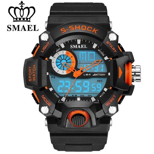 c1e3c4a4d Top Fashion Estilo G Choque Homens Relógio Digital Relógio de Pulso Esporte  Relógio Eletrônico relógio de Pulso Militar Do Exército À Prova D  Água  Reloj ...