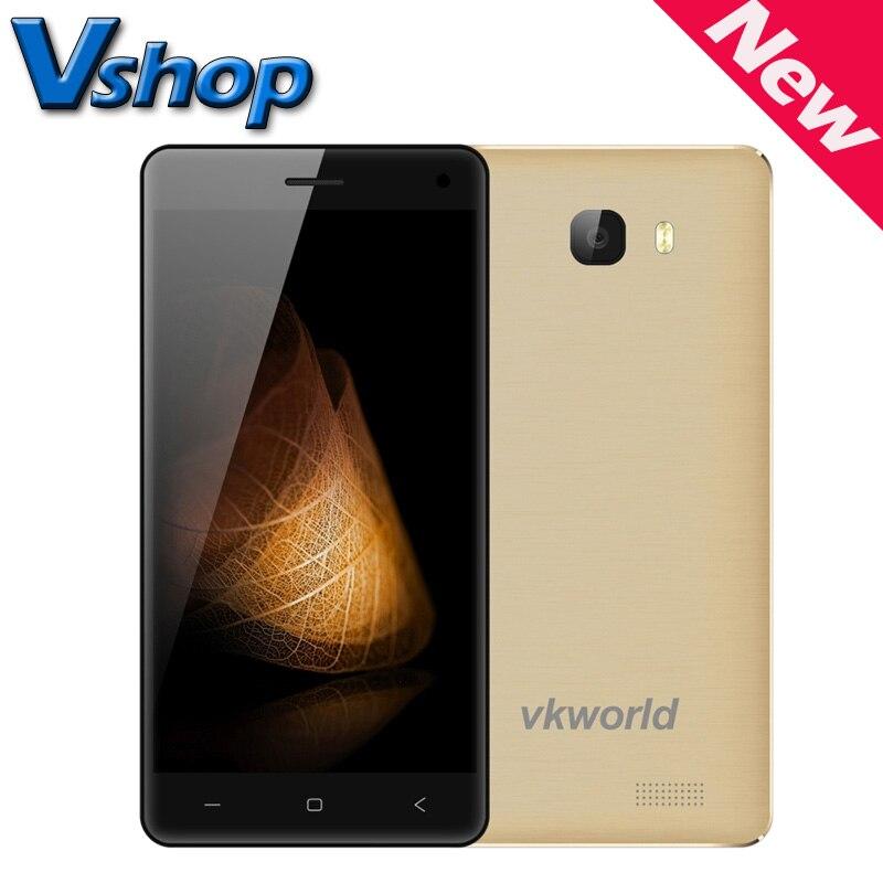 Цена за Оригинал vkworld t5 mtk6580 quad core android 5.1 2 ГБ ram 16 ГБ rom 8MP 3 Г 5.0 дюймов 720 P Dual SIM Смартфон GPS 4.0 Bluetooth