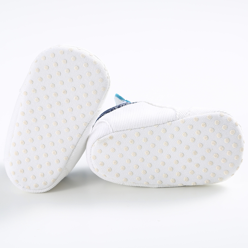 Купить с кэшбэком Cartoon Blue Baby Sport Sneakers Branded Blue Boy Boots Newborn Chaussure Girls Casual Booties Soft Sole Kids Shoes bebe Sapatos