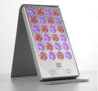 120 LED Photon Therapy Facial Salon Skin Care Treatment Machine, Led Mirror Pad beauty instrument