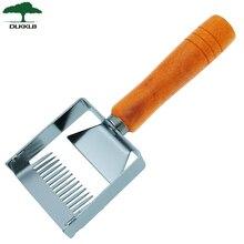 Вилка для раскройки, скребок для меда, деревянная ручка, оборудование для раскройки, инструменты для пчеловодства