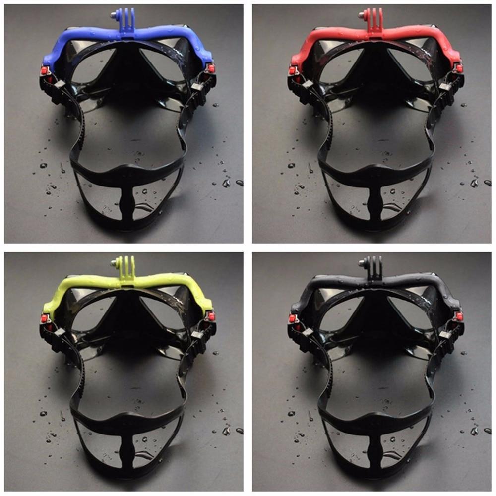 Hot Dropship Professional Underwater Camera Diving Mask Scuba Snorkel Swimming Goggles for GoPro Xiaomi SJCAM Sports Camera 5
