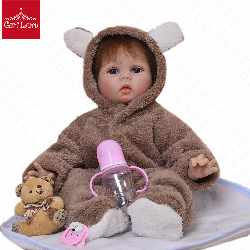 Reborn Baby Doll Soft Silicone Stuffed Kids Plush Toys For Kids Birthday Gift High Quality Bebe Reborn Baby Kids Latest New HOTReborn Baby Doll Soft Silicone Stuffed Kids Plush Toys For Kids Birthday Gift High Quality Bebe Reborn Baby Kids Latest New HOT