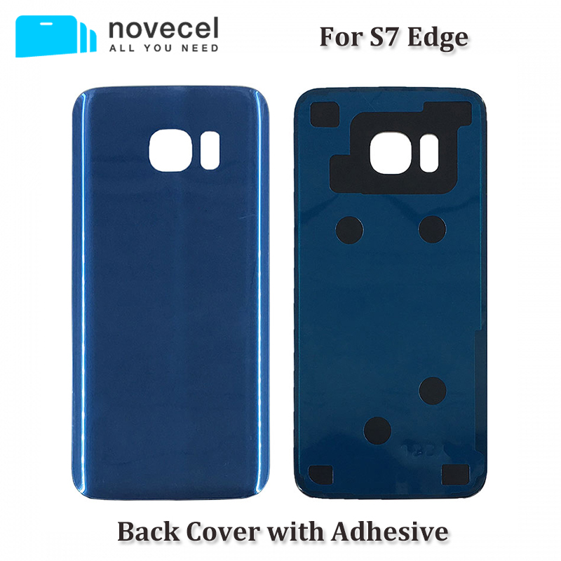 G935F Back Battery Cover Door Rear Glass Housing Case For Samsung S7 edge Battery Cover Replacement