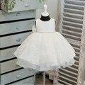 Baby Girl Dress Элегантный Кружева Пачка Платья Для Новорожденный Ребенок Свадьба Крестины Наряды Малышей Девушка 1 Год День Рождения Платья
